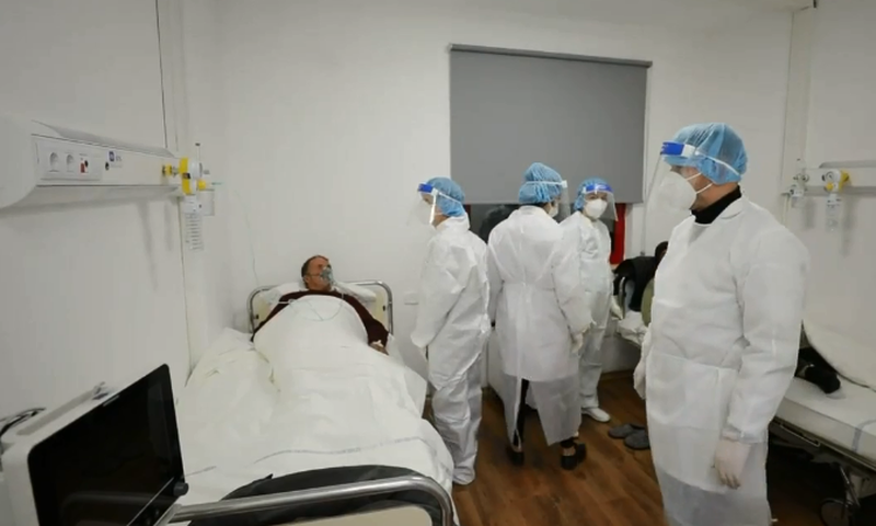 Photo-Video / Covid-4 hospital opens this evening, Manastirliu: Capacity of 100