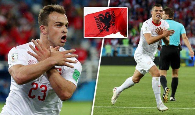 Serbët tërbohen pas humbjes, djegin flamurin shqiptar në mes të Zvicrës